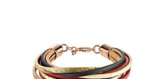 Złote zegarki i bransoletki damskie